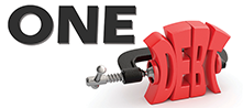 One Debt logo
