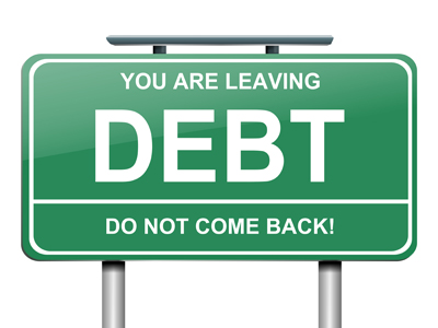 you are leaving debt